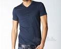 Short Sleeve V Neck Design Custom Shirt 5