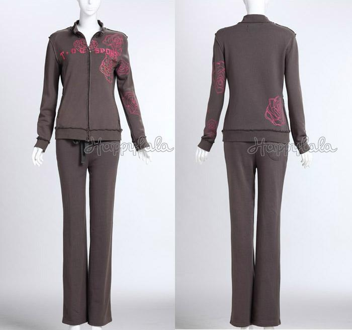 Wholesale French Terry Sweat Suits for Women 1