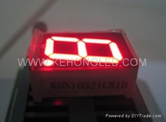 full sizes and full color 1 digit /one led digit number display outdoor 0.32""