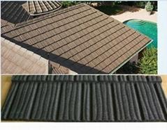 Stone coated metal roof tile- Flat tile