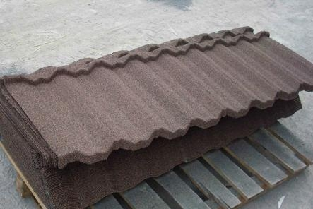 Stone Coated Metal Roof Tile Nosen Tile St Nuoran