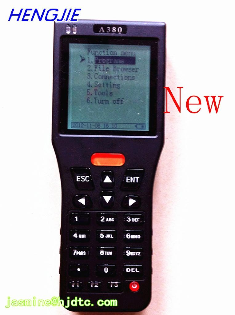 Electronic Meter Reading Device : Meter reading device with barcode scanner uhf rfid reader