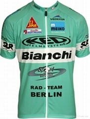 specialized bianchi mens  cycling jersey
