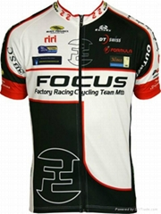 cheap focus compression cycling jersey