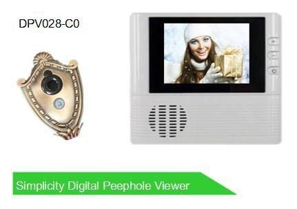 2.8' digital peephole viewer 1