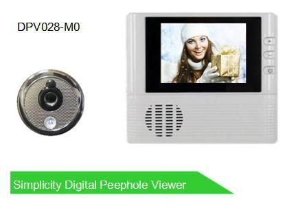 2.8' digital peephole viewer 1