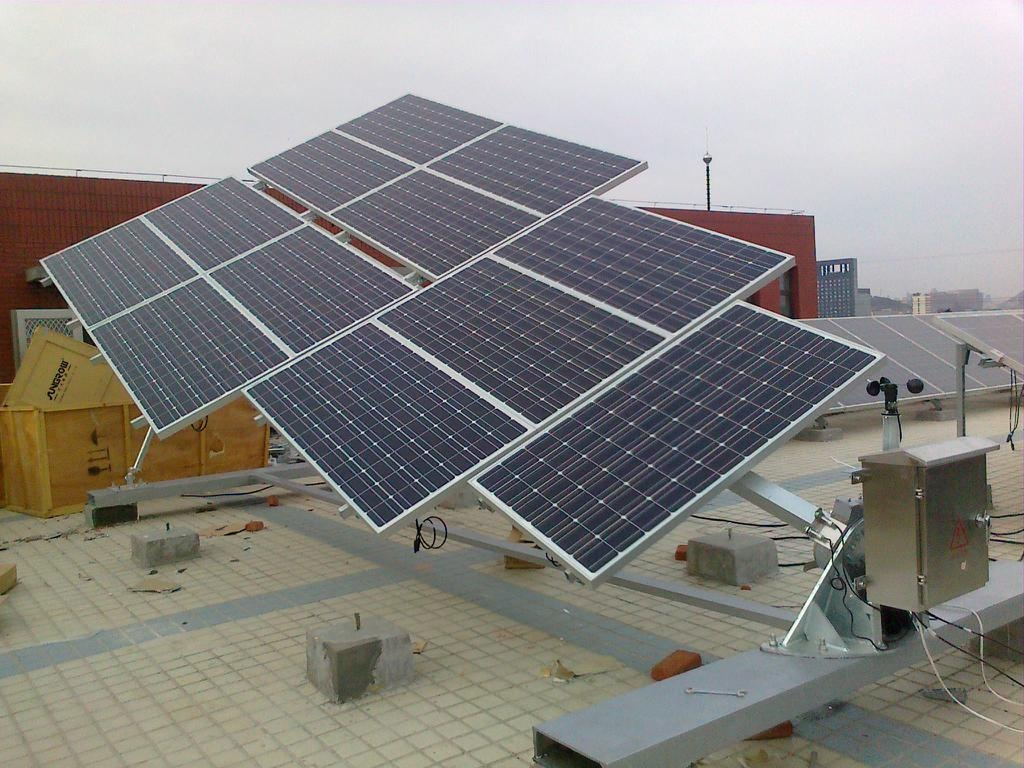 Tilted single axis solar tracker (China Trading Company) - Solar ...