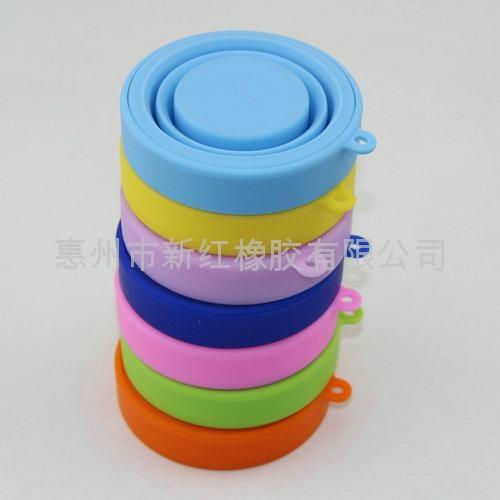 环保硅胶旅行可折叠水杯 3