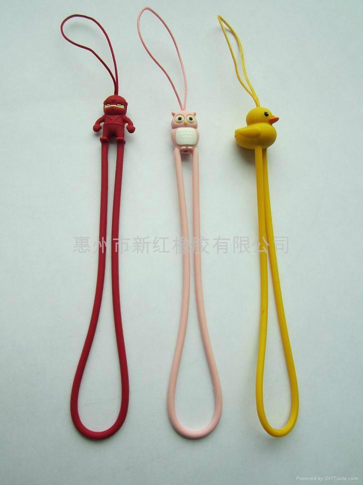 環保硅膠手機繩 4