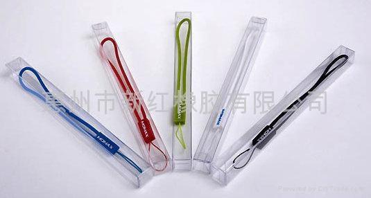 環保硅膠手機繩 5