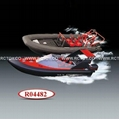 3 Channel RC Racing Boat