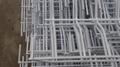 Hot dipped galvanized or PVC coated welded wire fence panel (manufacture)