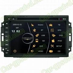 8.0 inch DVD GPS Navi Radio System for Chrysler 300C 04- 06 Car