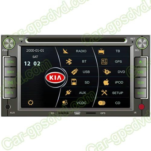 KIA Ceed 06- 09 DVD GPS Navigation player with Bluetooth 1