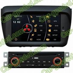8 Inch DVD GPS Navi Radio System for Mitsubishi L200, BT
