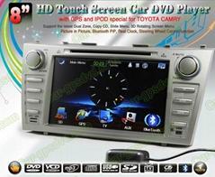 Car DVD GPS Navigation player for Toyota Camry 07- 11 car