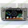 Car DVD GPS Navigation player for Toyota Camry 07- 11 car 2