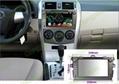 Car DVD GPS Navigation player for Toyota Corolla 2007- 2012 car 3
