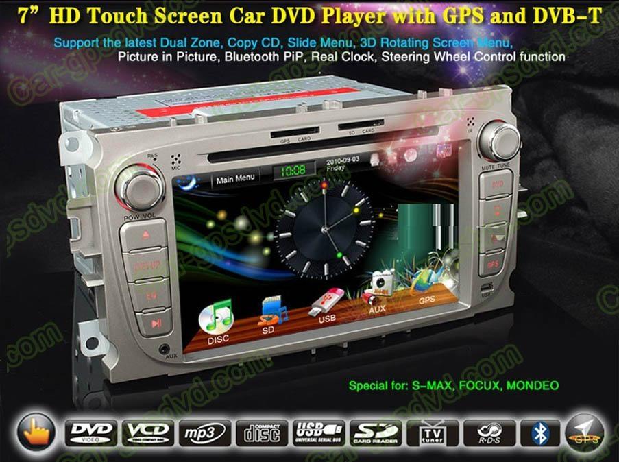 Car DVD GPS Navigation player for Ford Focus 2007- 2011 car 1