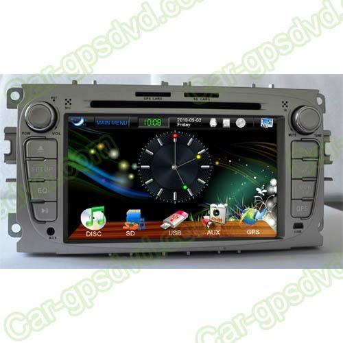 Car DVD GPS Navigation player for Ford Focus 2007- 2011 car 2