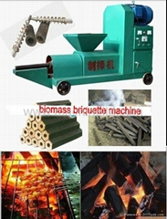 Wood Charcoal Briquette Machine