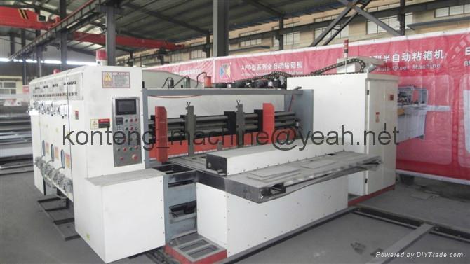 High speed Flexo slotted die cutting printing machine 2