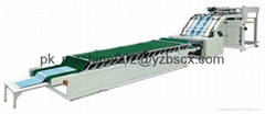 [ZB-BZJ-1600]High Speed automatic flute laminator flute laminating machine