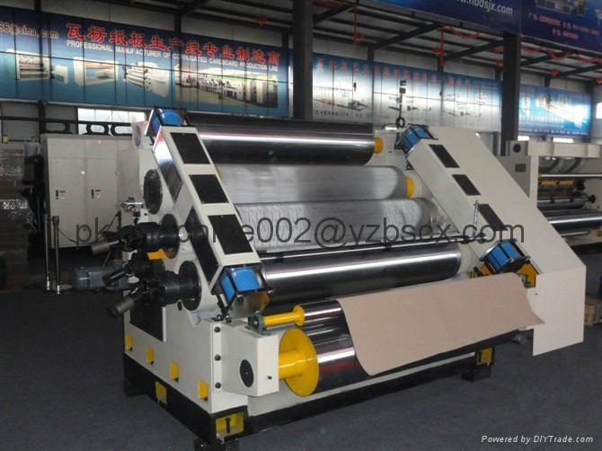 [RD-SF-320S-1600]Fingerless single facer Corrugator Corrugation machine  1
