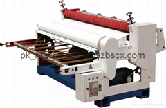 [ZB-PTSD-1400]Rotary shear machine for 2 two ply layer corrugated line