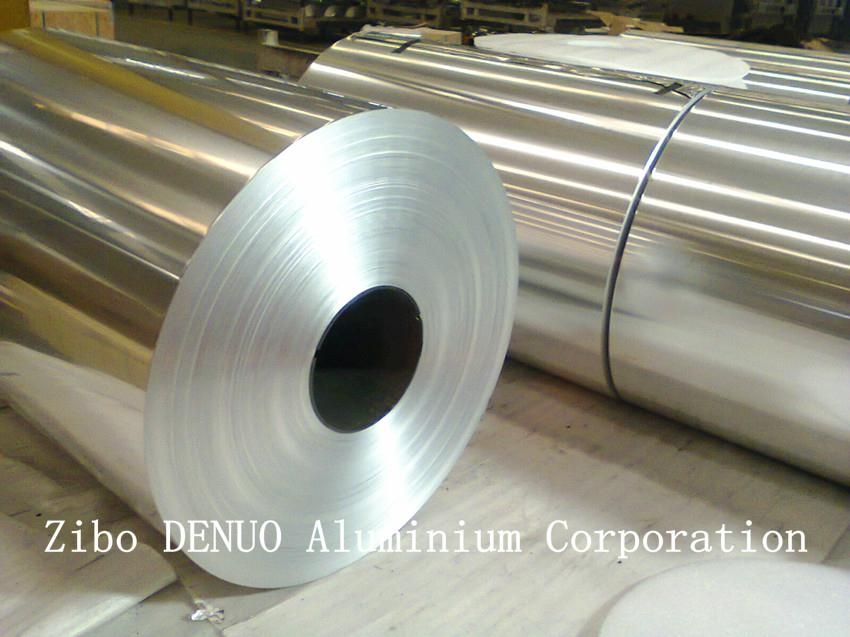 High quality competitive price Lidding aluminium foil in jumbo roll 1
