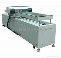 PU皮料工藝盒印刷機