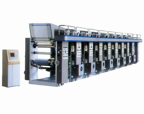 Medium-Speed Computer Gravure Printing Machine 1
