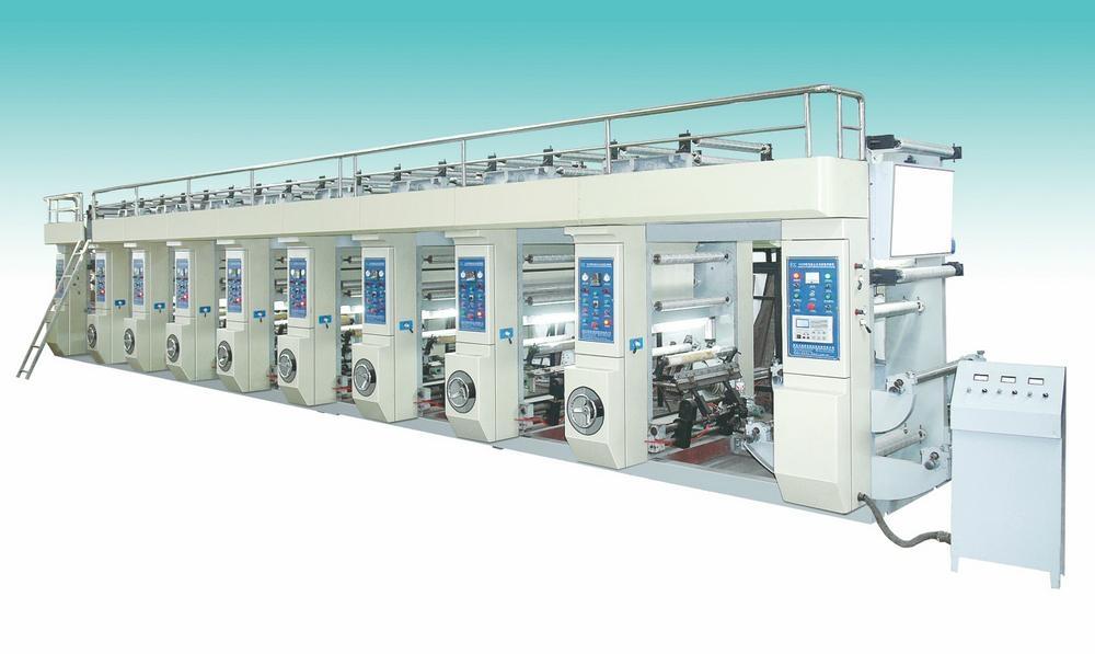 Computer Rotogravure Printing Machine 1