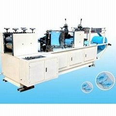 Non woven shoe-cover making machine