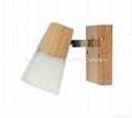 Wood spotlight