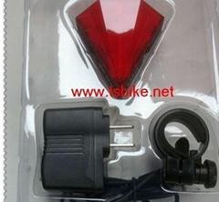 中豪科技LED激光自行车尾灯