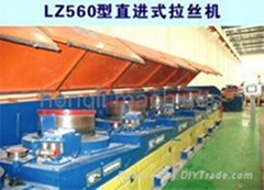 Straight wire drawing machines
