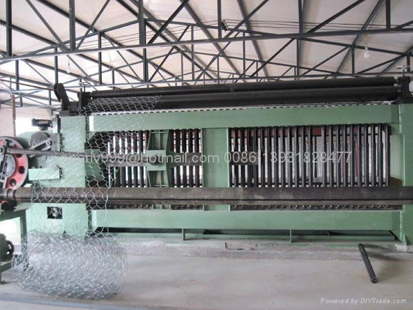 gabion machines, heavy hexagonal netting making machine 3
