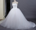 Strapless Bouffant Wedding Dresses