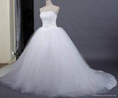 Strapless Bouffant Wedding Dresses