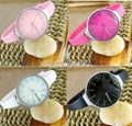 Ladies Silicone Bracelet Watch