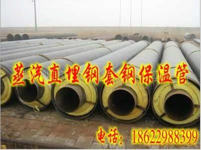 鋼套鋼蒸汽保溫管 1