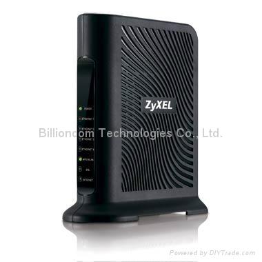 4-port wireless ADSL2+ Router P-660HN-T1A 1