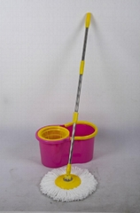 360 mop with stainless steel basket for 2013 household cleaning