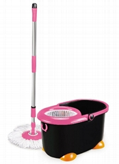 360 spin mop bucket for household cleaning