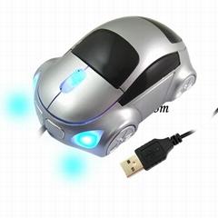 Car Shape USB 3D Optical Mouse Mice for PC/Laptop