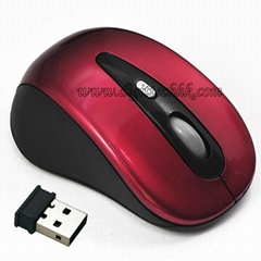 10m 2.4GHz Mini USB Optical Sensor Superior Wireless Mouse for PC/Laptop
