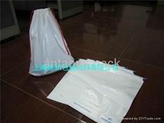 Plastic Drawstring Gift Bag