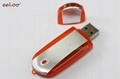 Aluminum with colorful ABS USB stick for