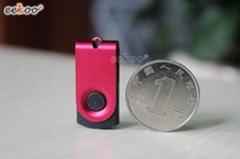 Mini colorful swivel USB pen drive